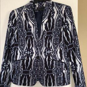 CALVIN KLEIN soft cotton blazer, like new! 💋